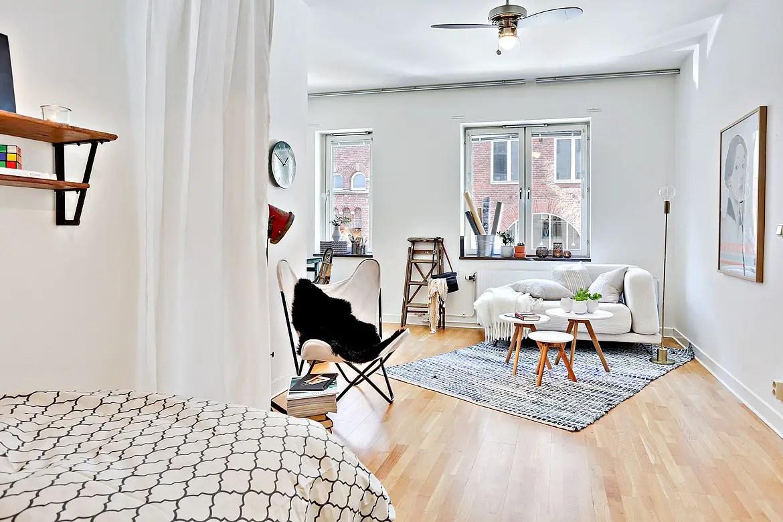 Interieurs scandinaves archives page 223 sur 459 for Deco appartement 38m2