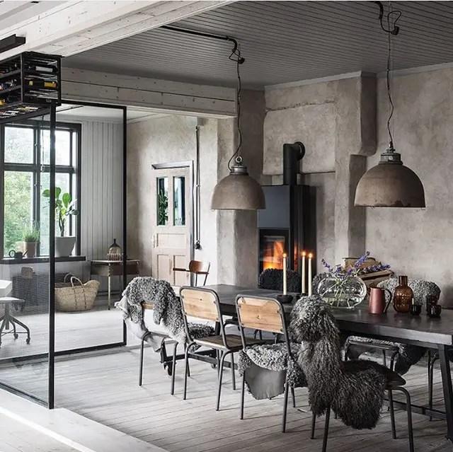 un ancien atelier r nov par un architecte planete deco a homes world bloglovin. Black Bedroom Furniture Sets. Home Design Ideas