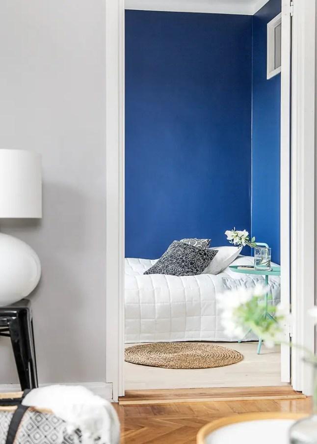 la chambre bleue planete deco a homes world. Black Bedroom Furniture Sets. Home Design Ideas
