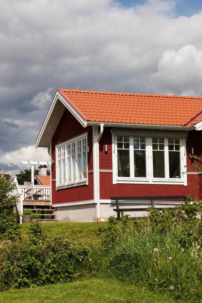 la maison sur le lac siljan planete deco a homes world. Black Bedroom Furniture Sets. Home Design Ideas