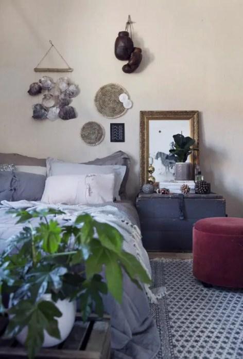 Dormitorio ecléctico