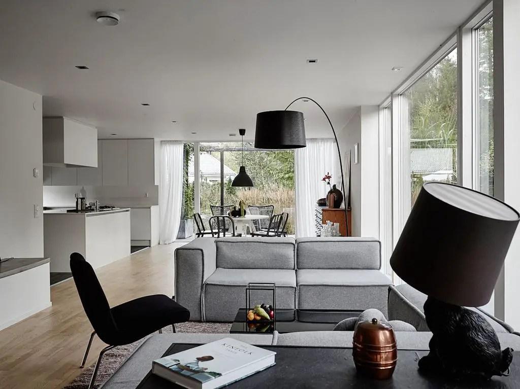 Une Maison D'architecte De Style Fonctionnaliste En Suède