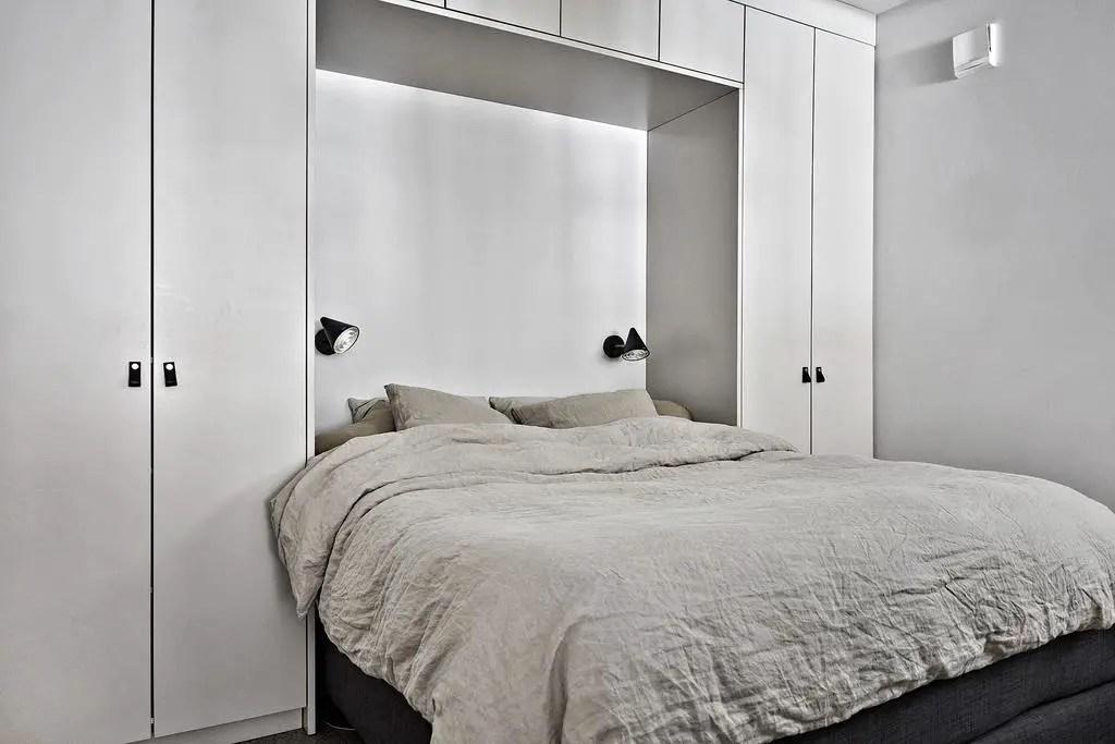 une autre fa on de cr er une chambre dans un studio planete deco a homes world. Black Bedroom Furniture Sets. Home Design Ideas