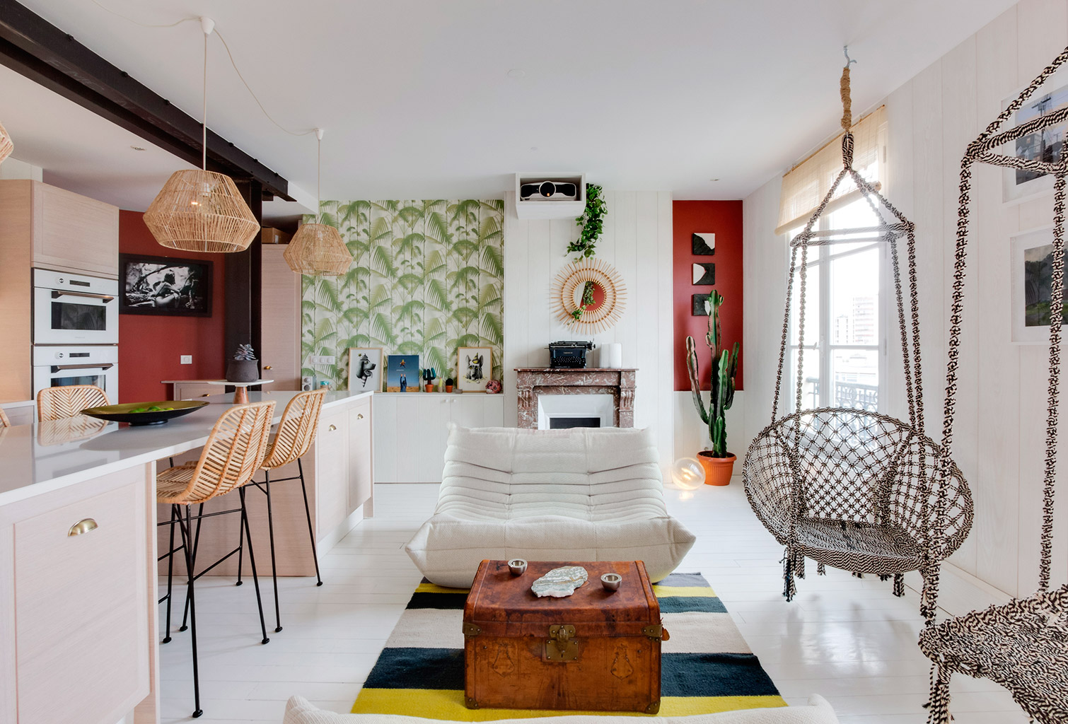 Inspiration surf pour un appartement paris planete for Inspiration appartement