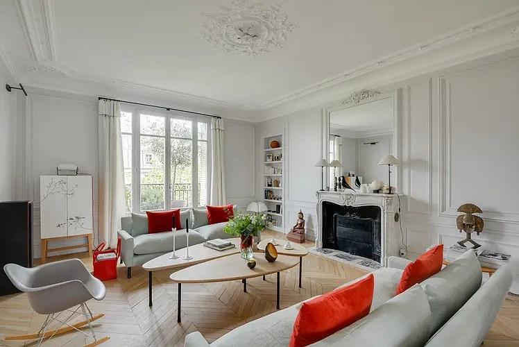 Un appartement haussmannien modernisé   PLANETE DECO a homes world