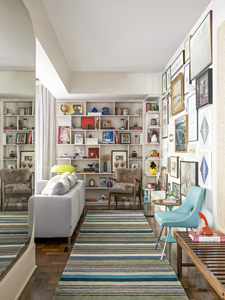 un appartement pour deux architectes planete deco a. Black Bedroom Furniture Sets. Home Design Ideas