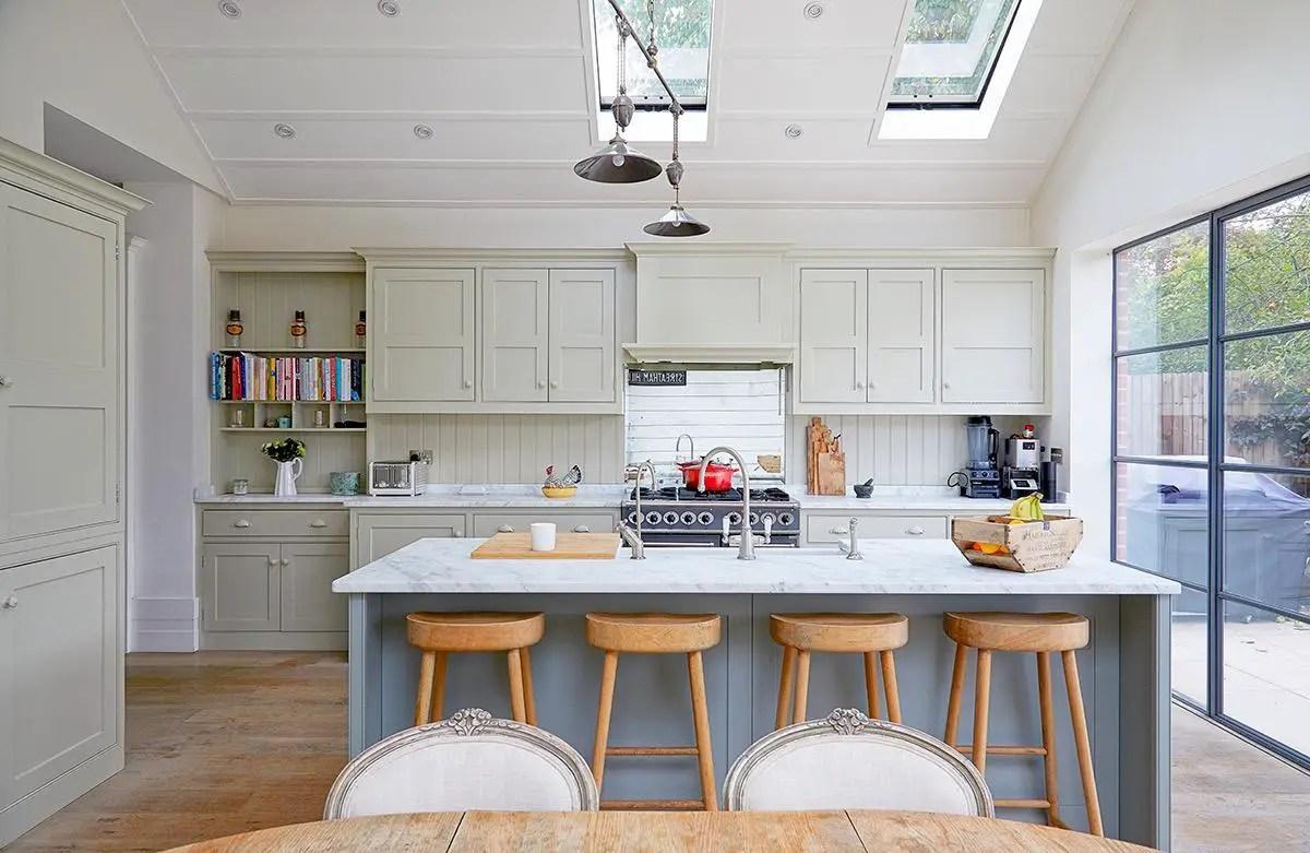 Un Cuisine Familiale Dans Une Maison Londonienne Planete Deco A