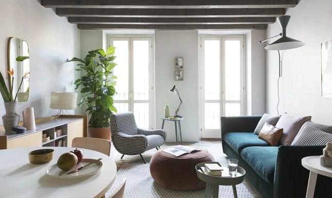 Un appartement restructuré et modernisé