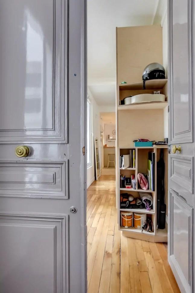 Un appartement au design bouleau planete deco a homes world for Appartement paris design