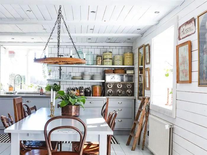 Maison et appartement vintage