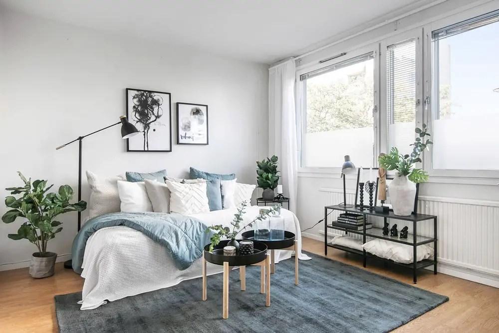 Un petit appartement au style ethnique chic épuré