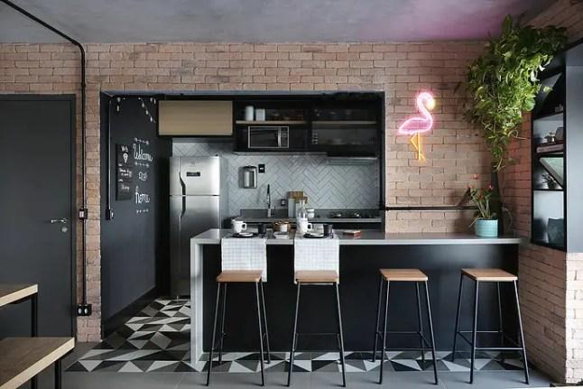 Design loft pour un appartement brésilien