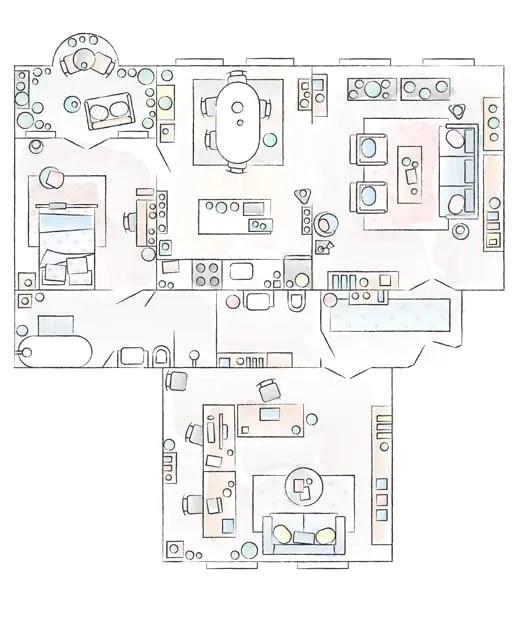 Un appartement pour vivre et travailler en Pologne