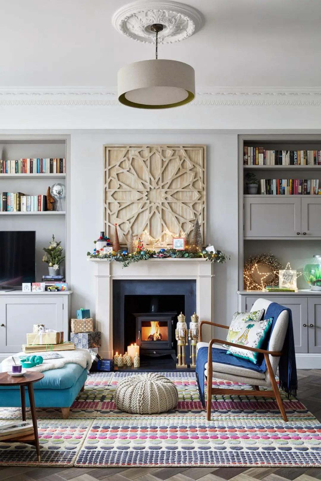 Une maison prête pour Noël à Londres