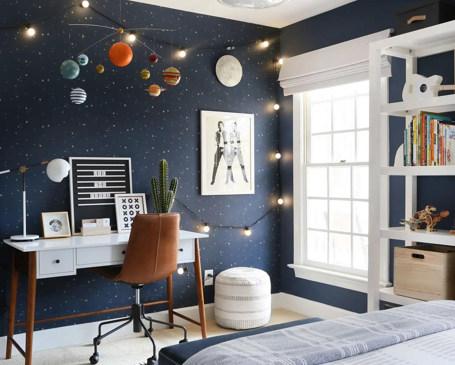 Une chambre d'enfant inspirée par l'espace   PLANETE DECO a homes ...