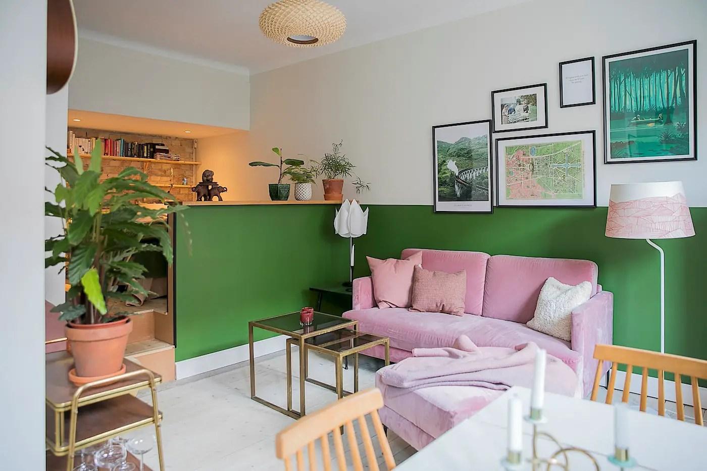 Un studio dont le plan et les couleurs vont vous inspirer !