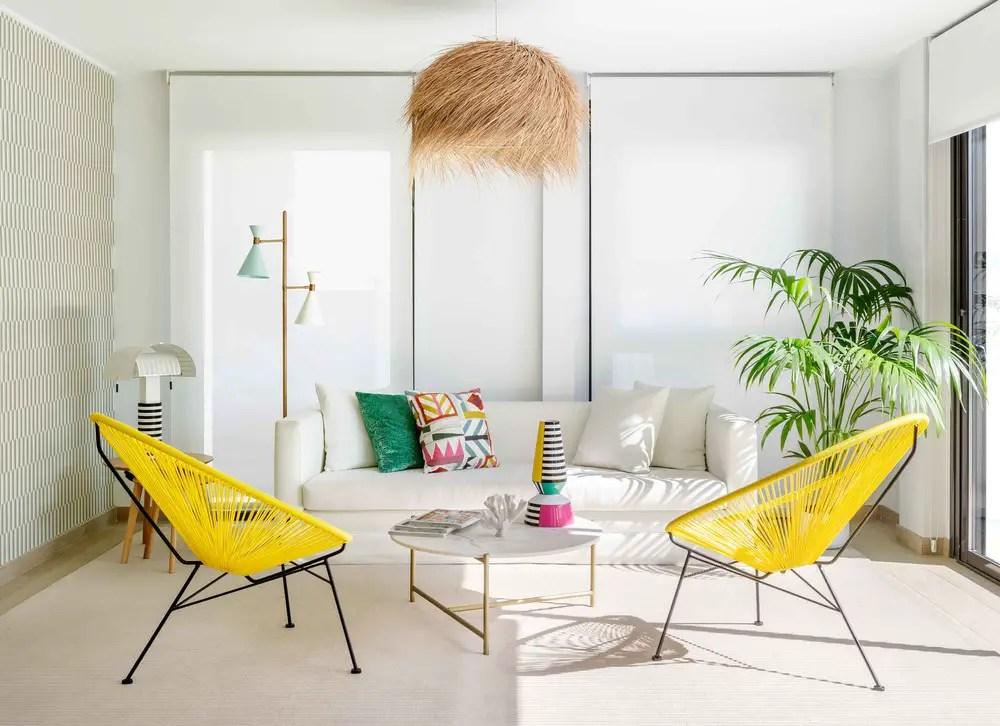 Une décoration intérieure fraîche par une designer espagnole