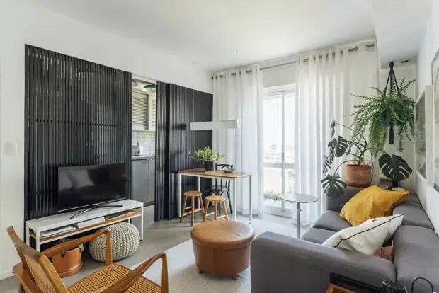 La rénovation d\'un petit appartement avec des cloisons ...