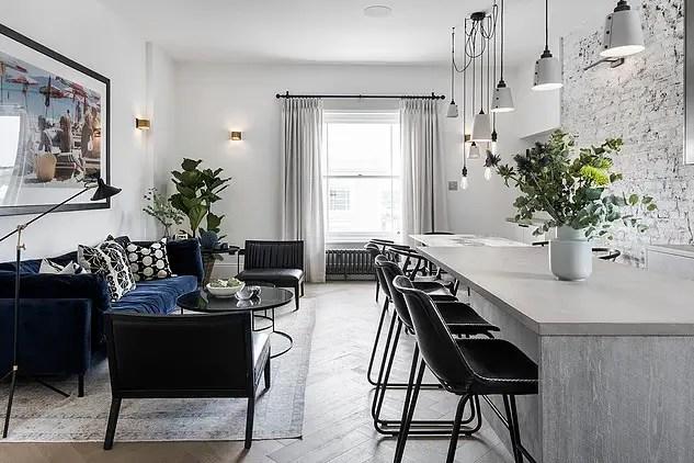 Un appartement londonien décoré par une architecte suédoise