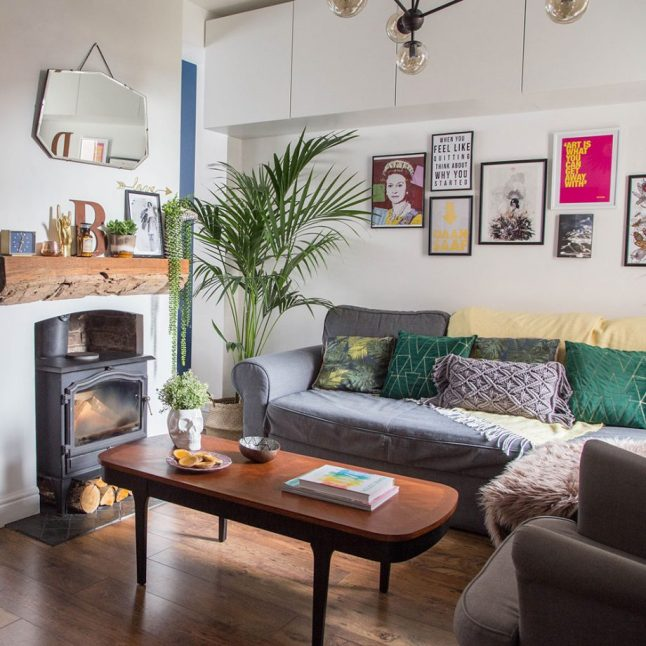 Idea To Decorate Living Room: Une Maison De Ville Aux Couleurs Vives
