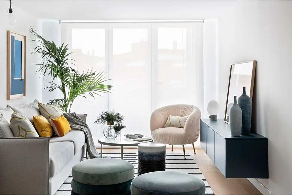 Un appartement espagnol avec une décoration au design raffiné