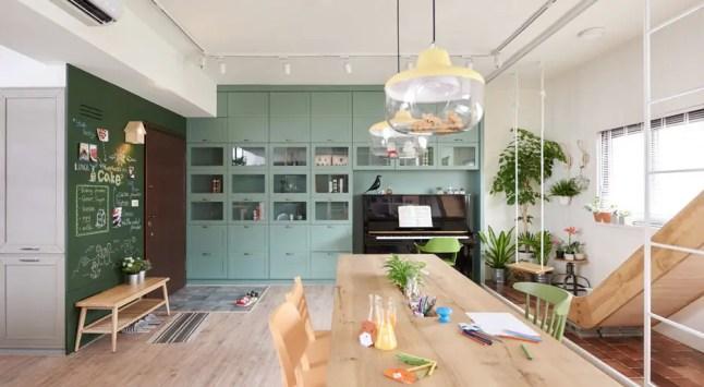 Un appartement comme aire de jeux par HAO Design
