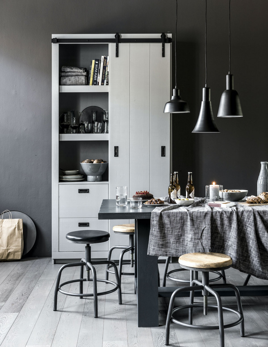 En design intérieur, le gris est toujours une bonne idée