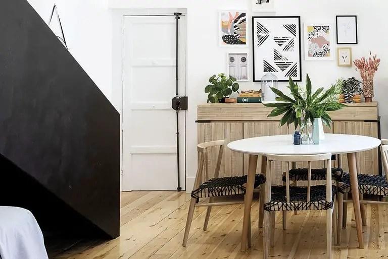 Cet appartement en location est celui d'une architecte blogueuse