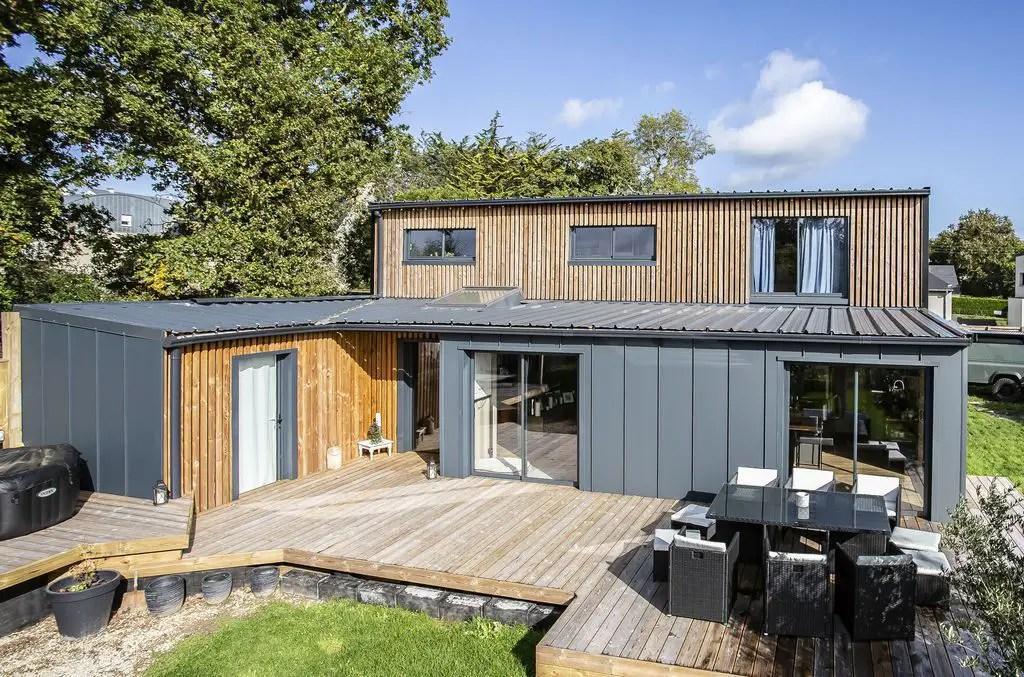 Cette Maison Container Est Francaise Et Realisee En Autoconstruction Oui C Est Possible Planete Deco A Homes World