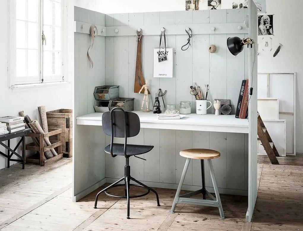 Décoration spéciale confinement : se créer un bureau isolé dans une pièce ouverte - PLANETE DECO a homes world