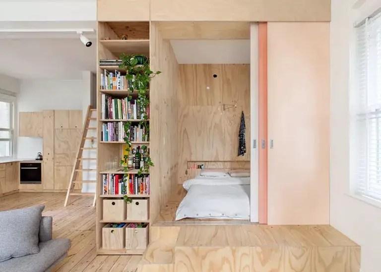 Une chambre cabine dans un appartement inspiré par le Japon - PLANETE DECO a homes world