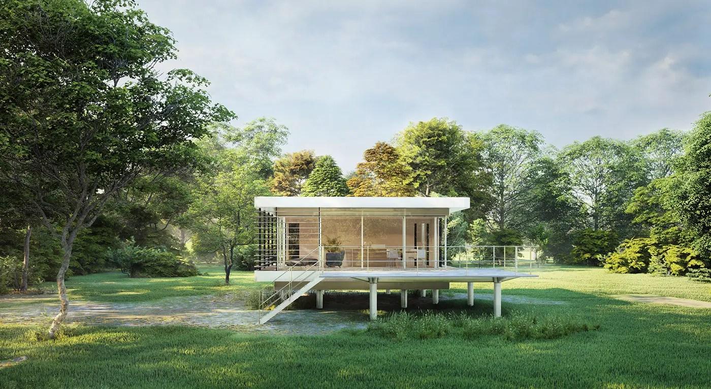Ôzento une mini maison loft de 50m2 écologique à installer en pleine nature - PLANETE DECO a homes world