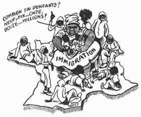 Immigration France 2012