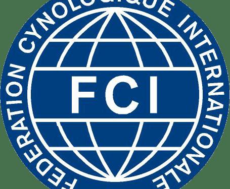 logo FCI Fédération cynologique internationale