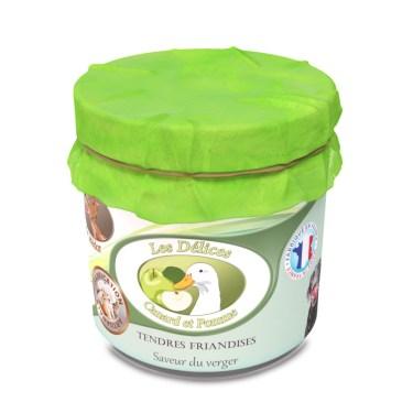 friandise pour chien canard et pommes naturelles
