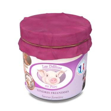friandises naturelles pour chien au porc