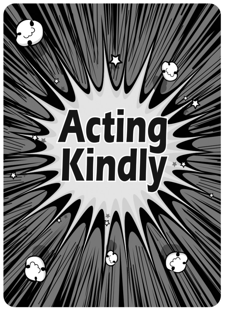 Acting-Kindly_Card Back_Gray