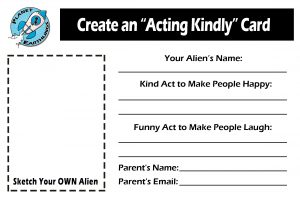 "Create Your Own ""Acting Kindly"" Card"