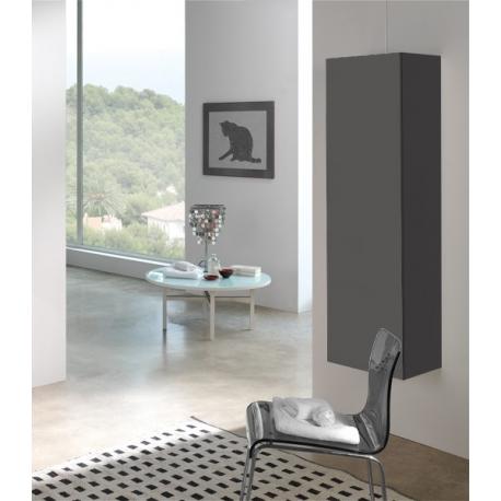 colonne suspendue salon meuble de rangement planetebain
