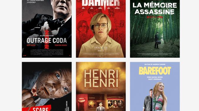 Programmation du site e-cinema.com