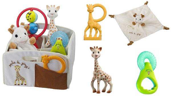 Corbeille Sophie la Girafe