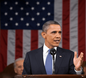 Obama Giving the State of the Union