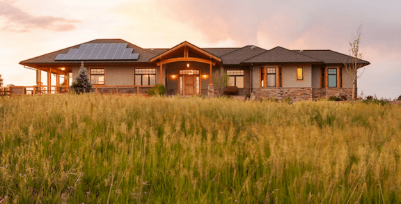 An energy-efficient home in Colorado built by Rodwin Architecture (Source: Rodwin Architecture)