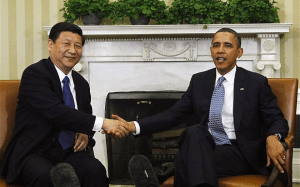 President Obama and Chinese President Xi Jinping. (Photo: REUTERS / © Jason Reed