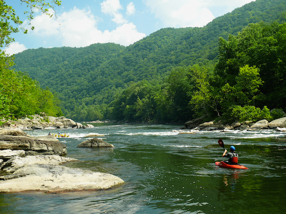 The New River Gorge in southern West Virginia (Source: Creative Commons)