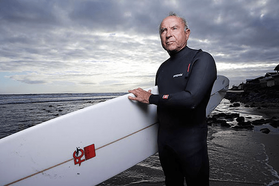 Patagonia founder Yvon Chouinard is an avid surfer (Image: Creative Commons)