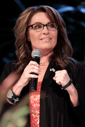 Professional Troll Sarah Palin (Source: WikiMedia Commons)