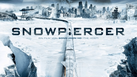 In the film Snowpiercer, the world is frozen following a disastrous attempt to fix global warming. (Image Credit: RADIUS-TWC via Vinjabond)