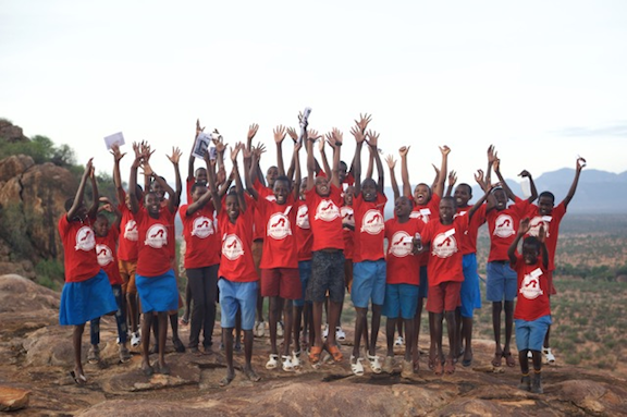27 Kenyan kids participated in this month's Lion Kids Camp held by Ewaso Lions. (Image Credit: Ewaso Lions)