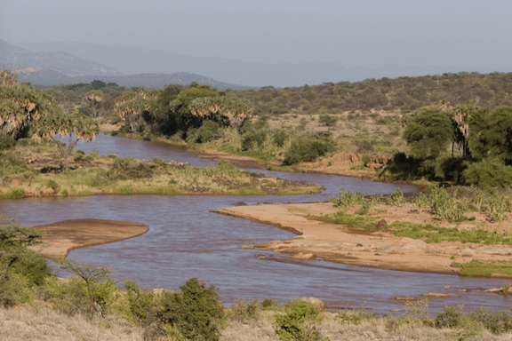The Ewaso Nyiro passing through Shaba National Reserve in 2011. (Image Credit: Marc Samsom / Flickr